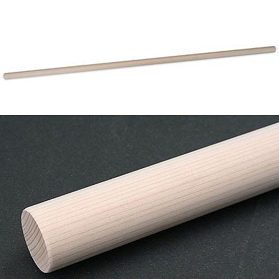 【クリックで詳細表示】豊稔企販 麺棒 檜 900mm 太さ30mm (KKW315) KKW-315