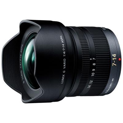 【クリックで詳細表示】広角ズームレンズ 7-14mm/F4.0 ASPH./MEGA O.I.S「LUMIX G VARIO」 :H-F007014