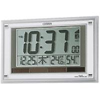 【クリックで詳細表示】リズム時計 パルデジットソーラーエア (8RZ093003) 8RZ093-003