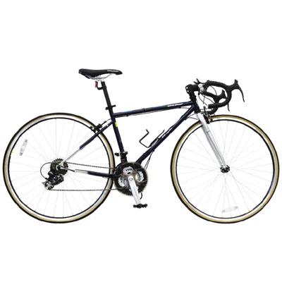 【クリックで詳細表示】ビーズ 【送料無料】 26インチ折畳クロスバイク 21段変速搭載 「路面抵抗の少ない700Cタイヤとドロップハンドルを専用装備」 806squalo