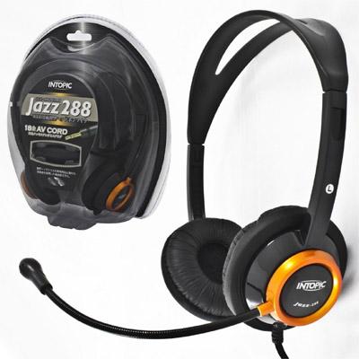 【クリックで詳細表示】セルサス ヘッドフォンマイク JAZZ288