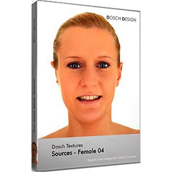 【クリックで詳細表示】DOSCH Textures: Sources - Female 04 :DT-SFE04