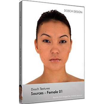【クリックで詳細表示】DOSCH Textures: Sources - Female 01 :DT-SFE01