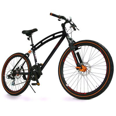 【クリックで詳細表示】26インチ自転車 21段変速 visceral(ヴィセラル) 「力強さとそしてカーブフレームならではの優雅さを共有」(d2 visceral) :d2-visceral
