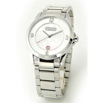 【クリックで詳細表示】COACH コーチ コーチ メンズ 腕時計 クラシック シグネチャー ブレスウオッチ 14601185 wwco00328m
