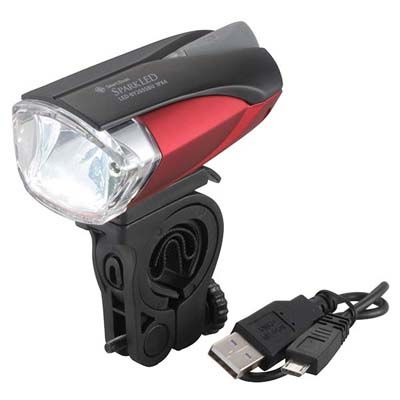 ... 】USB充電式 自転車用LEDライト